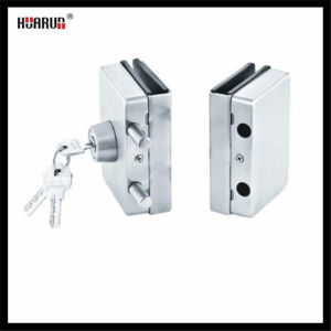 Stainless Steel Glass Door Double Lock HR-1143/HR-1144: pictures & photos