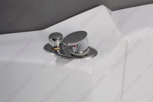 CE ISO9001 ABS Indoor Corner Massage Bathtub (CL-340) pictures & photos