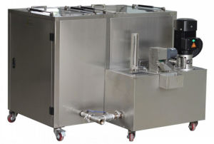 Tense Ultrasonic Cleaner with High Pressure Water Cleaning (TS-L-S1000A) pictures & photos