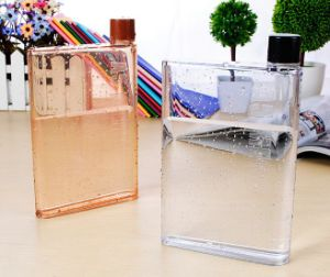 BPA Free Flat Portable A5 Memo Bottle Notebook as Water Bottle pictures & photos