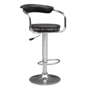 Modern Hot Sale Barstool with High Backr Zs-501 pictures & photos