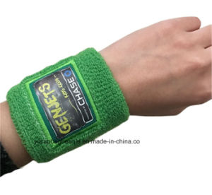 Professional Custom Knitted Sports Wristbands pictures & photos