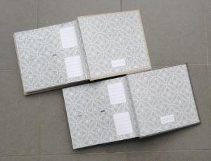 200 Photos 4X6 Luxury Book Bound Fabric Photo Album pictures & photos