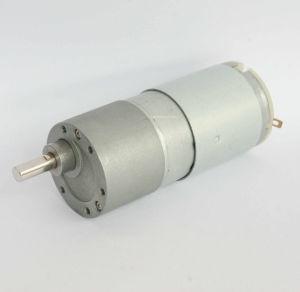 37mm 12volt Micro Gearbox Gear Motor Carbon Brush DC Motors pictures & photos