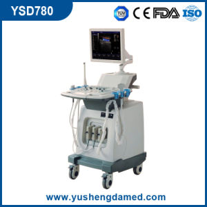 Ysd780 Digital 4D Trolley Color Doppler Ultrasound pictures & photos