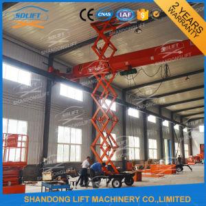 4 Wheels Mobile Scissor Lift Platform / Hydraulic Pallet Lift Tables pictures & photos