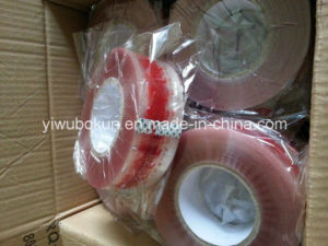 Export to Dubai 250mtr Logo Printed Carton Packing Tape BOPP Film with Acrylic Glue pictures & photos