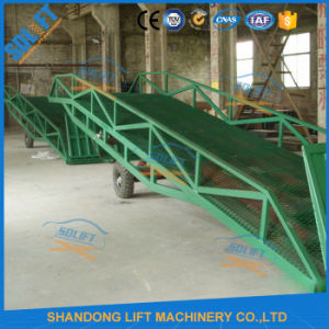 Mobile Container Loading Ramp with CE pictures & photos