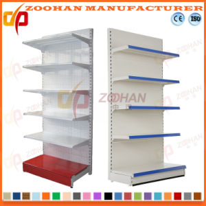 Fashion Supermarket Single Side Holeback Wall Display Shelf (Zhs549) pictures & photos