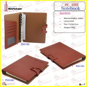Leather Note Book Wholesale (6500) pictures & photos