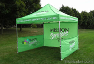 Custom Printed 10X10FT Trade Show Pop up Tent Marquee pictures & photos