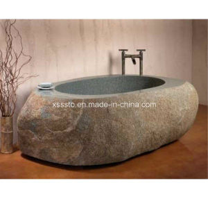 Classical Stone Granite Marble Hot Tub Bathtub for Sale pictures & photos