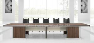 Luxury Melamine Wood Office Furniture Conference Table Meeting Desk (HF-BA048) pictures & photos