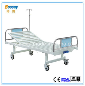 FDA Approval One Crank Manual Bed Patient Hospital Bed pictures & photos