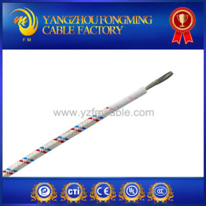UL3122 2.5mm Fiberglass Braiding Silicone Insulated High Temperature Wire pictures & photos