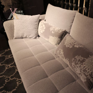 Setional Fabric Sofa Set (915) pictures & photos
