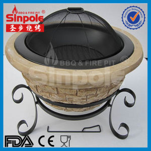 Fashion Stone Charcoal Fire Pit (SP-FT090) pictures & photos