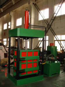 Vertical Hydraulic Non-Metal Scrap Baling Machine pictures & photos
