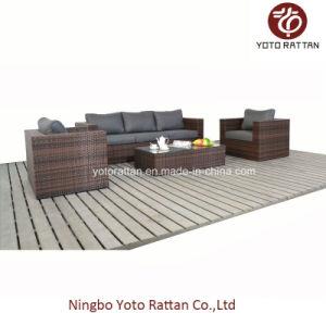 Rattan Three Seater Sofa (1206) pictures & photos