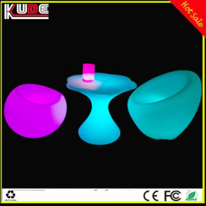 Bar Furniture Set Suit-Furniture LED Furniture Chair and Table pictures & photos
