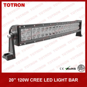 21.5 Inch 120W CREE Curved LED Light Bar with High 750lux/10m (TLB3120X)