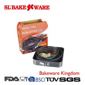 3PCS Springform Set Carbon Steel Nonstick Bakeware (SL BAKEWARE)