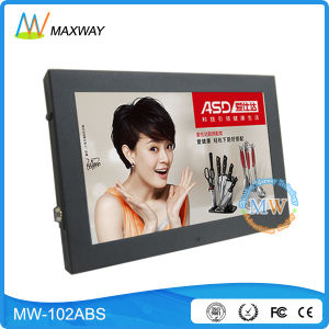 Small Size 10 Inch LCD Monitor USB Media Player for Advertising (MW-102ABS) pictures & photos