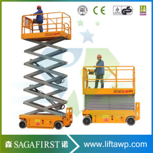 Self Propelled Scissor Lifter Mobile Vertical Man Lift pictures & photos