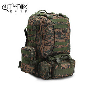 Camo Pattern Military Backpack pictures & photos