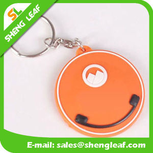 Eco-Friendly Rubber Keychain Productfor Decoration (SLF-KC046) pictures & photos