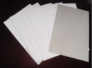 250GSM White Coated Duplex Board Grey Back pictures & photos