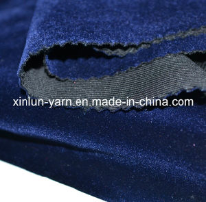 100% Polyester Brush/Coated/Bonded/Flocking Polyester Velvet Fabric for Garment/Shoes/Sofa pictures & photos