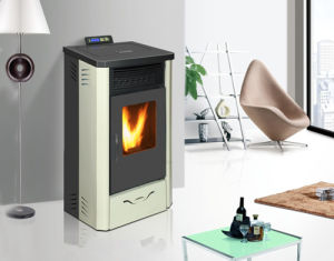 11kw Big Power Automatic Feeding and Ignite Indoor Using Pellet Stove pictures & photos