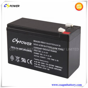 UPS Lead Acid Rechargeable Battery 12V7.2ah Life Span 8years pictures & photos