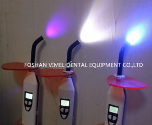 Dental Curing Light LED Wireless 3in1 Function Caries Detect Lamp pictures & photos
