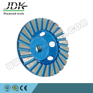 Turbo Diamond Grinding Cup Wheel for Granite pictures & photos