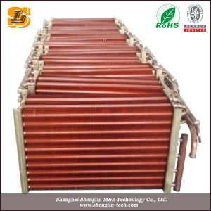 High Performance Cooling Stainless Steel Tube Copper Fin Radiator pictures & photos