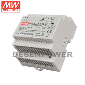 Meanwell/60W /Single Output/ Industrial DIN Rail/ Power Supply (DR-60-24)