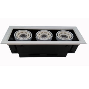 Three Head LED Grille Light for Commercial Lighting