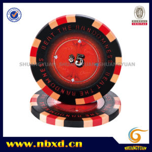 14G 3color Clay Customize Design Sticker Poker Chip pictures & photos