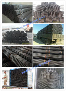 ERW Black Steel Tube (ZL-BP) pictures & photos