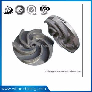 Carbon Steel Casting Ductile Iron Pump Impeller with OEM Service pictures & photos