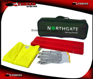 Double Warning Triangle Emergency Kit for Car (ET15039) pictures & photos