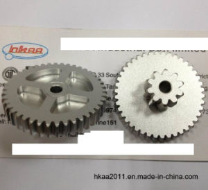 Aluminum Spur Gear Wheel for Motorcycle Transmission Motor pictures & photos