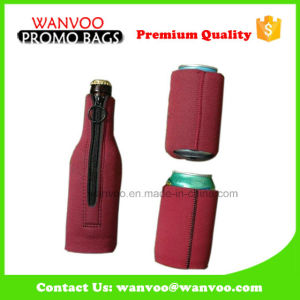 Eco Friendly Zipper Neoprene Can Cooler Holder pictures & photos