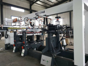 Double / Two Drilling Heads Lining Multi Axle Woodworking Driller Machine pictures & photos