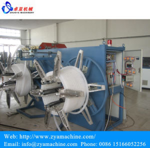 PE/PP Single Wall Corrugated Pipe Extrusion Line/Machinery pictures & photos
