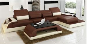 American Style Classic Leather Sofa pictures & photos