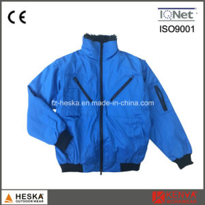 Winter Detachable Sleeve Custom Bomber Jackets pictures & photos