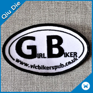 Fancy Custom Embroidered Patches/Badges/Labels with Felt Backside pictures & photos